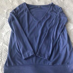 Aerie Long Sleeve V-Neck Shirt